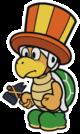 The Juggler Bro sprite from Paper Mario: Color Splash.