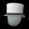 """The """"Fancy Top Hat"""" Mii headwear"""