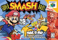 North American boxart of Super Smash Bros.