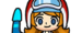 Mona character selection grid icon from WarioWare: Get It Together!