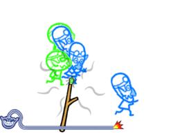 Crowd Control in WarioWare: Smooth Moves.