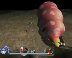 Pikmin 2 in WarioWare: Smooth Moves.