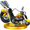 Wario Bike trophy from Super Smash Bros. for Wii U