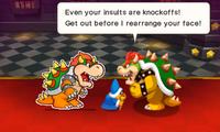 Mario & Luigi: Paper Jam screenshot.