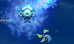 A Cryogonal in Super Smash Bros. for Nintendo 3DS