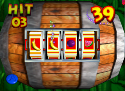 Batty Barrel Bandit from the game Donkey Kong 64