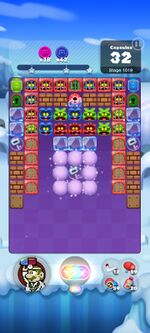 Stage 1019 from Dr. Mario World