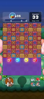 Stage 1079 from Dr. Mario World