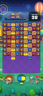 Stage 652 from Dr. Mario World