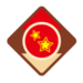 Diddy Kong's emblem from baseball from Mario Sports Superstars