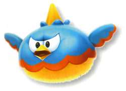 Artwork of Flaptack from Super Mario Galaxy 2