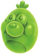 Artwork of Gummit from Super Mario Galaxy 2