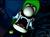 Luigi screaming in the beta Luigi's Mansion.