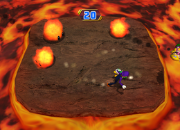 Lava or Leave 'Em from Mario Party 8