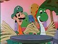 Luigi and Yoshi mutatedChickadactylswhattheheckKingScoopaKoopa.jpg