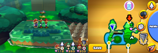 Location of the third item patch in Gloomy Woods.