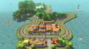 <small>GCN</small> Yoshi Circuit classic course in Mario Kart 8 - The Legend of Zelda × Mario Kart 8 downloadable content.