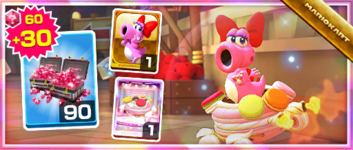 The Macharon Pack from the 2020 Halloween Tour in Mario Kart Tour