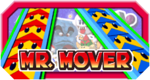 The logo for Mr. Mover in Mario Party 3