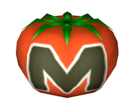 Artwork of the Maxim Tomato item from Super Smash Bros. Brawl.
