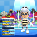 Dry Bones Mii Costume in the game Mario & Sonic at the London 2012 Olympic Games for the Wii.