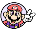 SMBPW Mario and Peace Sign.png