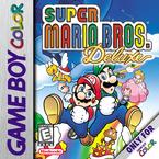 North American box art for Super Mario Bros. Deluxe