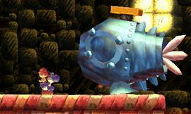 Blue Yoshi versus Furious Fred de Fillet