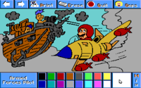 Mario as an Armed Forces Pilot.