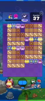 World 16's Special Stage from Dr. Mario World