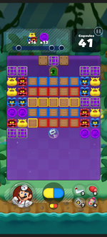 Stage 351 from Dr. Mario World