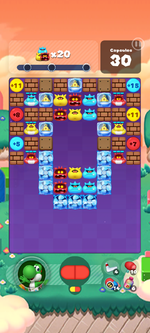 Stage 599 from Dr. Mario World