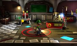 The Lab in Luigi's Mansion: Dark Moon
