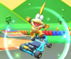 The icon of the Wendy Cup challenge from the Holiday Tour and the Diddy Kong Cup challenge from the New Year's 2021 Tour in Mario Kart Tour
