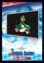 The Dolphin Dasher card from the Mario Kart Wii trading cards