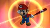 Mario's eye.