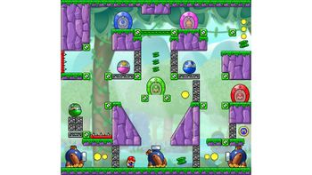 Miiverse screenshot of the 20th official level in the online community of Mario vs. Donkey Kong: Tipping Stars