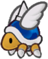 Spiky Parabuzzy from Paper Mario: The Thousand-Year Door.