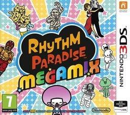 UK boxart for Rhythm Paradise Megamix