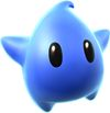 Super Mario Galaxy promotional artwork: A Blue Luma