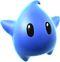 Super Mario Galaxy promotional artwork: A Blue Luma