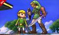 SSB4 3DS - Link Toon Link Screenshot.png