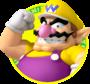 The icon artwork for Wario from Mario Tennis Open