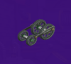 The Choo-Choo Tires from Mario Party 5s Super Duel Mode.