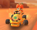 The icon of the Daisy Cup challenge from the 2020 Yoshi Tour in Mario Kart Tour.