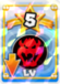 Lowers Bowser's and Bowser Jr.'s levels by 5.