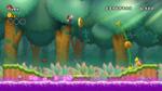 Fire Mario, going through 5-3 in New Super Mario Bros. Wii.