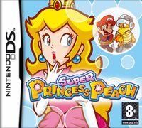 European front cover art for Super Princess Peach.