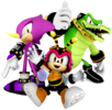 The Chaotix's Spirit sprite from Super Smash Bros. Ultimate