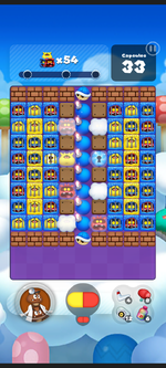 Stage 181 from Dr. Mario World